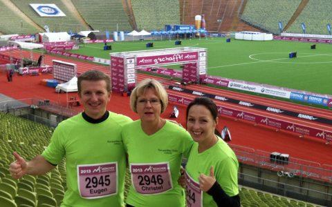 Marathonbetreuung - Mit 62 Jahren zum ersten Marathon