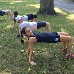 Functional Running - Stabilisationsübungen in der Gruppe